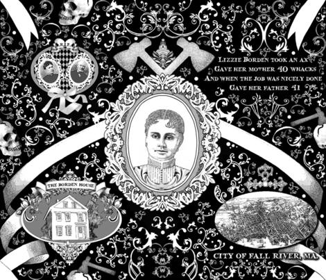 Lizzie Borden Overkill fabric by golders on Spoonflower - custom fabric