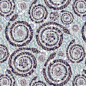 snake mosaic 2