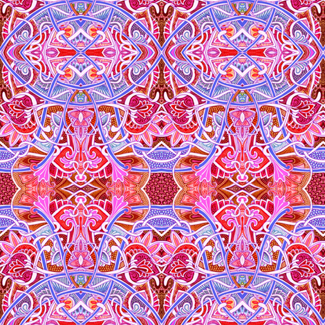 Come With Me to the Casbah fabric by edsel2084 on Spoonflower - custom fabric