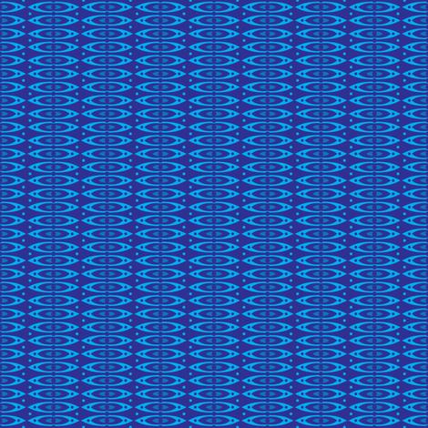Boho Stripes (Blue) fabric by robyriker on Spoonflower - custom fabric