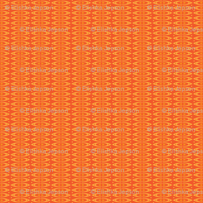 Boho Stripes (Orange)