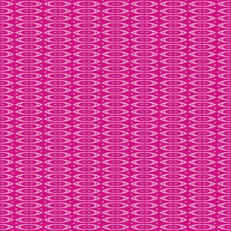 Boho Stripes (Pink) fabric by robyriker on Spoonflower - custom fabric