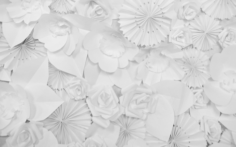 paper flowers fabric by myracle on Spoonflower - custom fabric