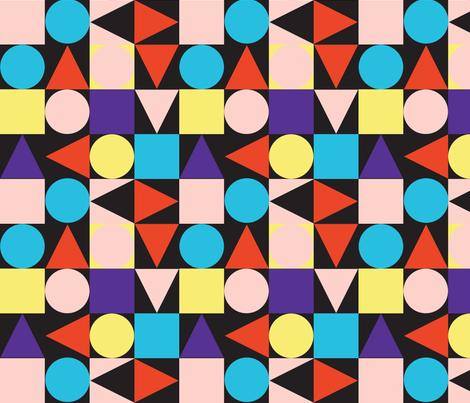 bauhaus fabric by friedbologna on Spoonflower - custom fabric