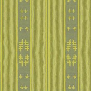 chopstix - yellow and gray