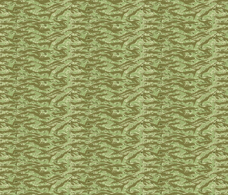Sixth Scale Desert Tiger Stripe Camo fabric by ricraynor on Spoonflower - custom fabric
