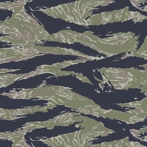 Silver Tiger Stripe Camo