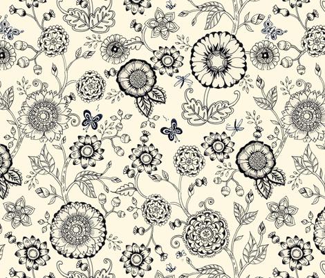 strange_repeat fabric by mcuetara on Spoonflower - custom fabric