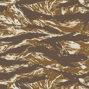 Sci Fi Alien Marine Tiger Stripe Camo