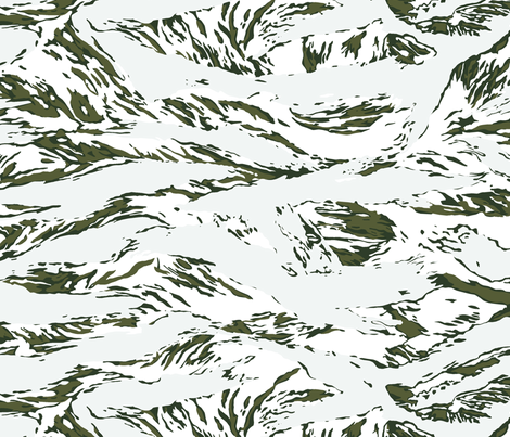woodland camo bath snow tiger stripe camo wallpaper ricraynor spoonflower