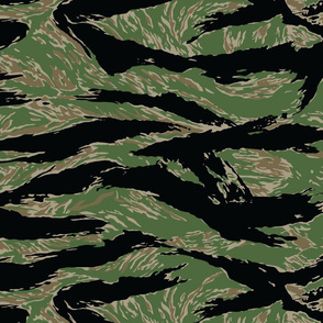 Tiger Stripe Camo, Darker Colors