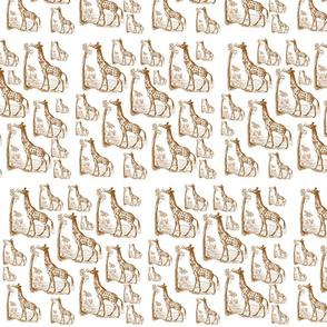 Vintage Giraffes