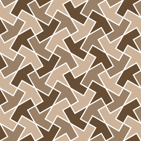 arrow 4g 3 fabric by sef on Spoonflower - custom fabric