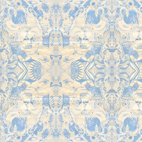 Blue Idyll fabric by katharina~michaela on Spoonflower - custom fabric