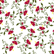 Flower Toss Pattern