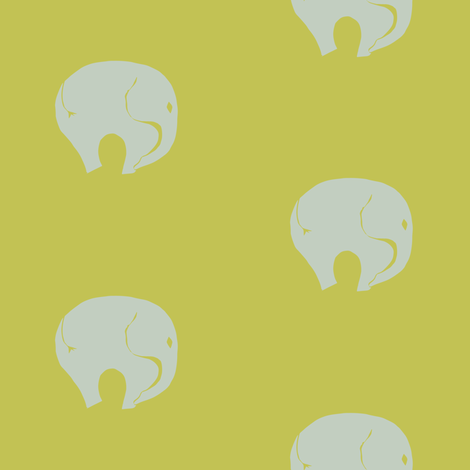StarrElephant 01 Color Play fabric by starrloy on Spoonflower - custom fabric