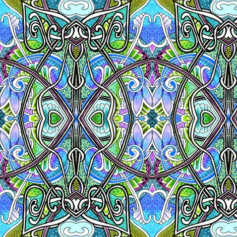 Beyond the Window Panes fabric by edsel2084 on Spoonflower - custom fabric