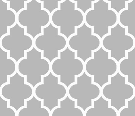 Cashmere Quatrefoil fabric by willowlanetextiles on Spoonflower - custom fabric