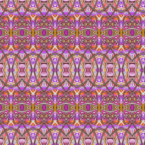Beyond the Tarnished Gate (horizontal stripe) fabric by edsel2084 on Spoonflower - custom fabric