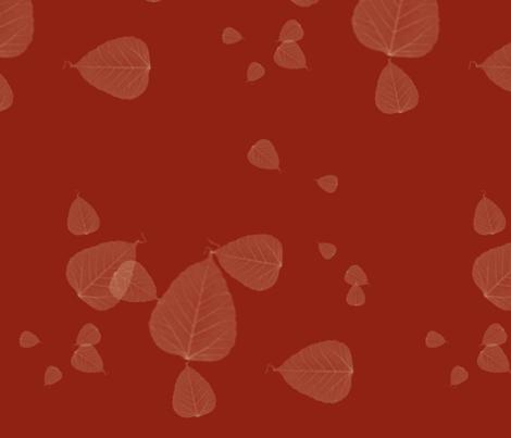 leaves fabric by audettesa on Spoonflower - custom fabric