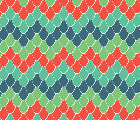 Snake Scale Chevron fabric by bojudesigns on Spoonflower - custom fabric