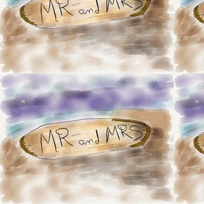 Mr and mrs drift wood