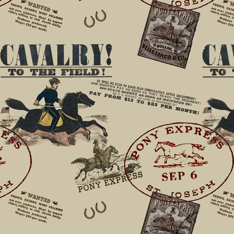 The Old West fabric by ragan on Spoonflower - custom fabric