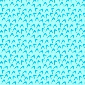 Jerrica's Blue Boomerang Blouse