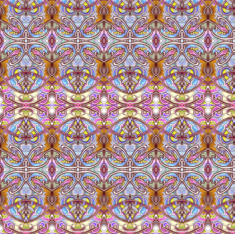 And Tulip Buds All in a Row fabric by edsel2084 on Spoonflower - custom fabric