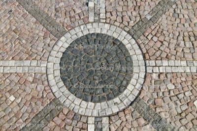 stone tile mosaic