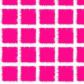hot fuchsia ikat