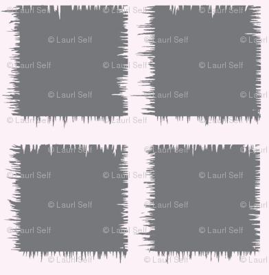 grey square ikat