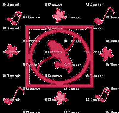 Madinina logo mizik pink