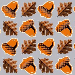 Acorns & Leaves