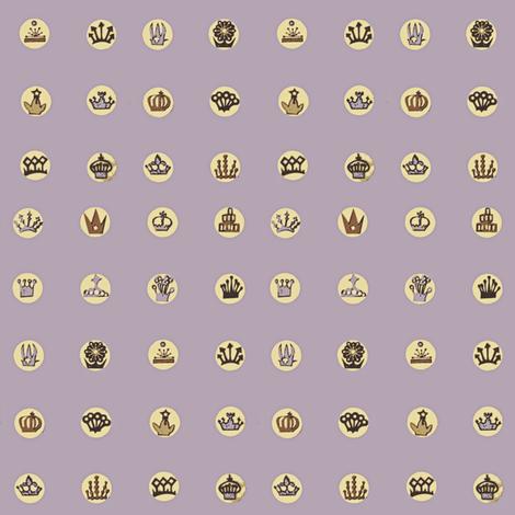 Tiara Stamp Dots fabric by boris_thumbkin on Spoonflower - custom fabric