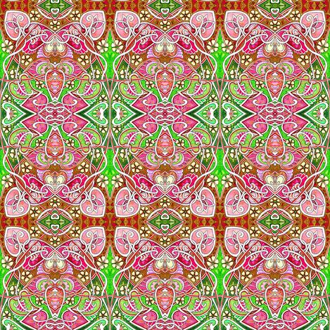 Art Nouveau Hallucinations fabric by edsel2084 on Spoonflower - custom fabric