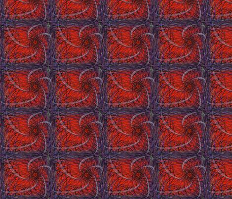 orange mills fabric by craige on Spoonflower - custom fabric