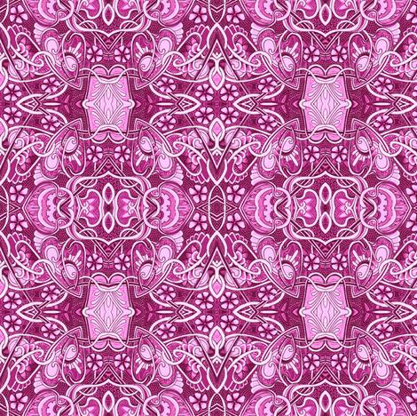 Retro Ruby Waltz fabric by edsel2084 on Spoonflower - custom fabric