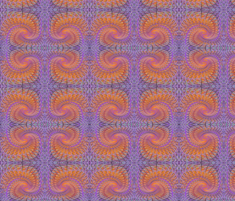 orange twist fabric by craige on Spoonflower - custom fabric