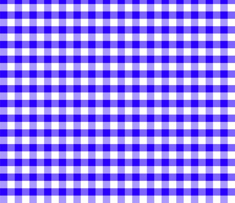 Base Vichy bleu fabric by manureva on Spoonflower - custom fabric