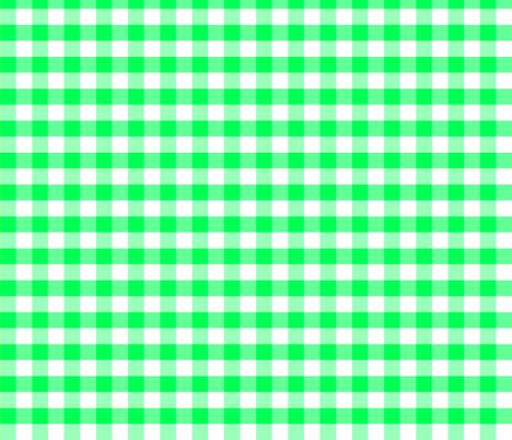 Base Vichy verte fabric by manureva on Spoonflower - custom fabric