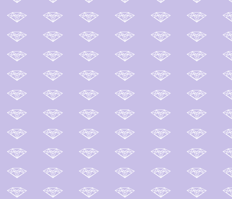 diamonds fabric by bamboohoney on Spoonflower - custom fabric