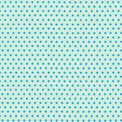 Polka Dots Blue