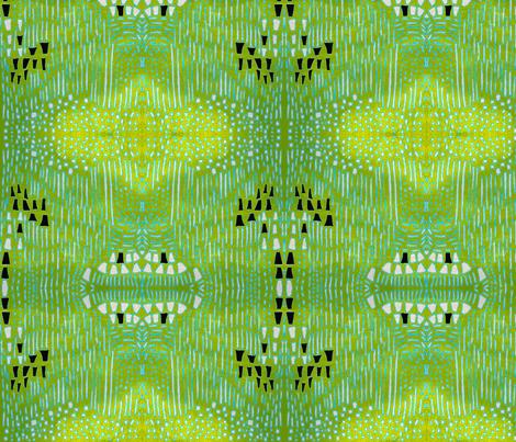 """Enchanted landscape"" fabric by elizabethvitale on Spoonflower - custom fabric"