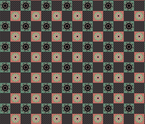 Kaleidescope Quilt fabric by jacquerose on Spoonflower - custom fabric