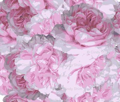 Pink Peony-flower