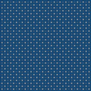 Floral Dot pink and blue  © 2012 by Jane Walker