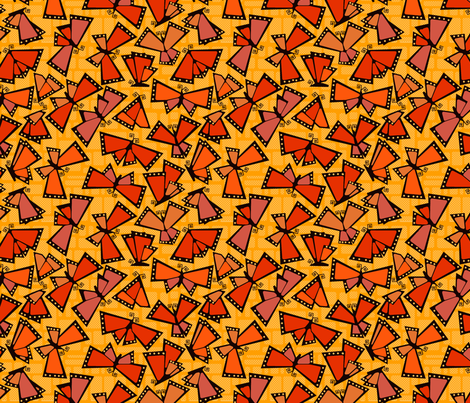 autumn migration fabric by motyka on Spoonflower - custom fabric