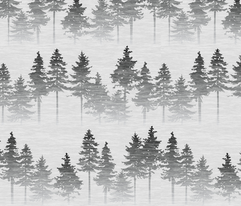 Forest Mist fabric by thecalvarium on Spoonflower - custom fabric