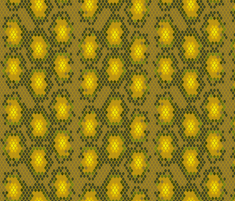 Sss Snake Skin fabric by mrshervi on Spoonflower - custom fabric